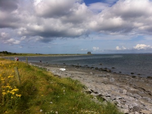 Martello Tower at Aughinish Island Start Lne