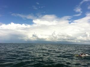 Big Sky over Galway Bay